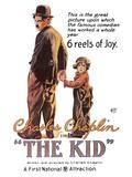 The Kid Movie Charlie Chaplin Poster Print Plakater