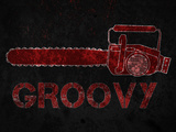 Groovy Chainsaw Affiches