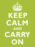 Keep Calm and Carry on Kiwi Art Print Poster Art