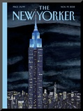 The New Yorker Cover - November 19, 2012 Mounted Print by Mark Ulriksen