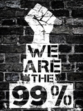 We are the 99 Percent Poster Affiches