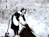 Town Maid Sweep at Hoxton Posters