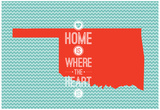 Home Is Where The Heart Is - Oklahoma Prints