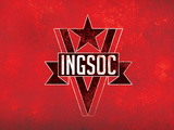 1984 INGSOC Big Brother Political  Flag Poster Pósters