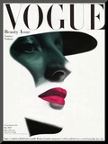 Vogue Cover - May 1945 Mounted Print by Erwin Blumenfeld