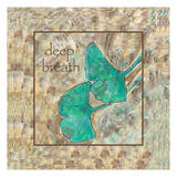 Ginko Deep Breath 2 Prints by Beverly Dyer