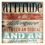 Attitude Posters by Jace Grey