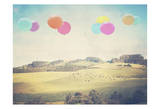 Balloons Over The Country Prints by Ashley Davis