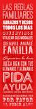 Las Reglas Familiares II Prints by Jace Grey