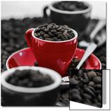 Black Cherry Coffee Plakat