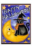 Happy Halloween Poster by Laurie Korsgaden