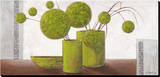 Brimming Green Balloons Reproduction sur toile tendue