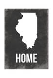 Illinois Home Art by Jace Grey