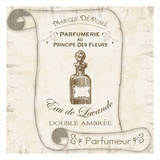 Scroll Bath Perfume Prints by Lauren Gibbons