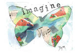 Imagine Butterfly Posters by Beverly Dyer