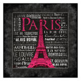 Paris Type Prints by Jace Grey