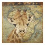 Giraffe Travel Prints by Jace Grey