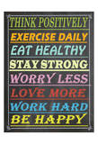 Work Hard Posters by Jean Olivia