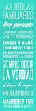 Las Reglas Familiares I Posters by Jace Grey