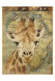 Giraffe 2 Posters by Jace Grey