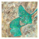 Ginko Deep Breath Print by Beverly Dyer
