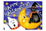 Happy Halloween 1 Posters by Laurie Korsgaden