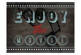 Enjoy The Movies Posters by Jace Grey