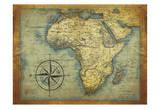 África Lámina por Jace Grey