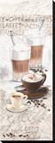 Coffee Lounge Reproduction transférée sur toile