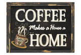 Coffee Home Posters by Laurie Korsgaden