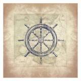 Coastal Map Poster by Jace Grey