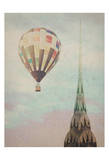 Chrysler Balloon Print by Ashley Davis