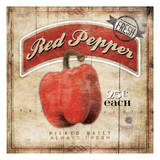 Red Peppers Posters by Jace Grey