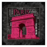 Paris Type II Poster by Jace Grey