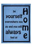 Home Right Plakater av Sheldon Lewis