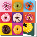 Funny Donuts Posters