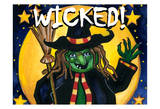 Hallo Wicked Prints by Laurie Korsgaden
