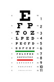 Eye Chart 1 Art by Germán Ariel Berra