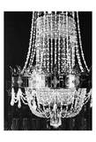 Chandelier White 2 Prints by Tina Carlson