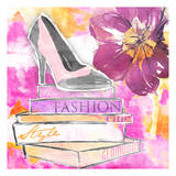 Fashion Heels Print by Jace Grey