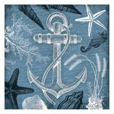 Anchor Nautical Prints by Jace Grey