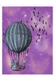Dream Balloon Prints by Ashley Davis