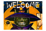 Hallo Welcome Posters by Laurie Korsgaden