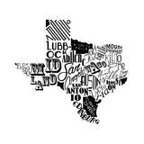 Texas Prints by Jace Grey