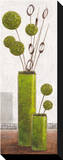Charming Green Balloons Reproduction sur toile tendue