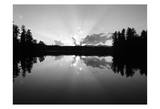 Sunset Lake Prints by Suzanne Foschino