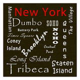 New York Prints by Sheldon Lewis