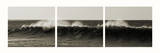 The Long Wave Triptych Prints by Noah Bay