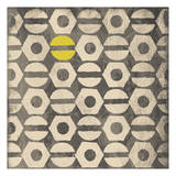 Pattern Yellow Gray Posters by Jace Grey