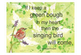 Bough In My Heart Affiches par Beverly Dyer